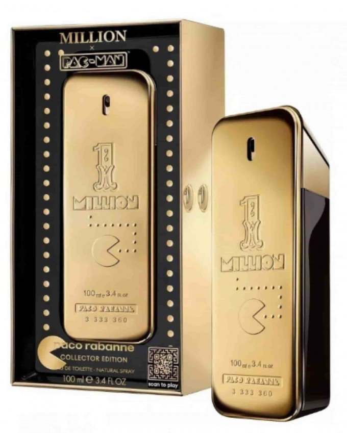Nước hoa PACO RABANNE ONE MILLION PAC MAN COLLECTOR EDITION EDT 100ml