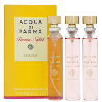 Set 3 Chai Nước Hoa ACQUA DI PARMA LEATHER PURSE SPRAY 20ML
