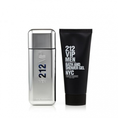 SET Nước hoa CAROLINA HERRERA 212 VIP MEN EDT 100ml + 1 Sữa Tắm Shower Gel 100ml