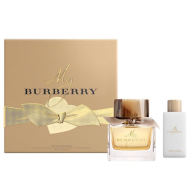 SET Nước Hoa BURBERRY MY BURBERRY EDP 90ml + 1 Body Lotion 5ml
