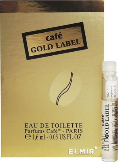 Vial Nước Hoa CAFE GOLD LABEL EDT 1.6ML